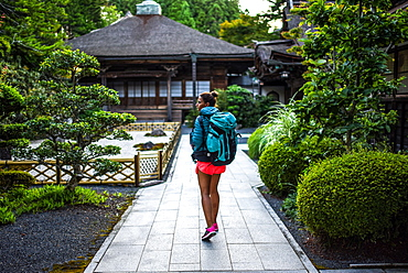 Yochi-in temple in Koyasan (Mount K?ya), a huge temple settlement in Wakayama Prefecture to the south of Osaka