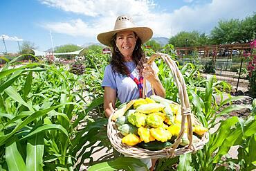 Farmer portrait with Produce