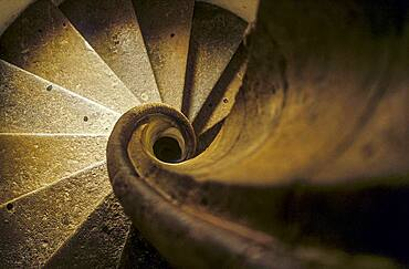 Burg, Spiral Staircase, Graz, Austria