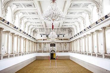 Spanish Riding School, in Hofburg palace, Vienna, Austria