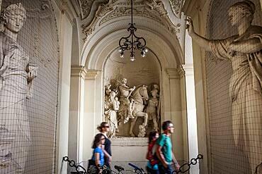 Entrance to Hofburg Palace, Vienna, Austria