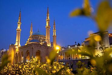 Mohammad Al-Amine Mosque, Beirut, Lebanon