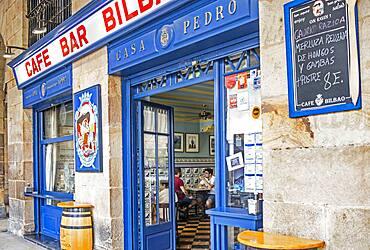 Café Bar Bilbao, 6 Plaza Nueva or 6 Plaza Berria, Bilbao, Spain