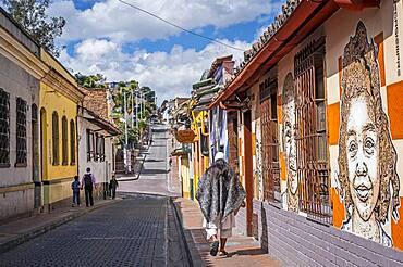 Carrera 2, Candelaria neighborhood, Bogotá, Colombia