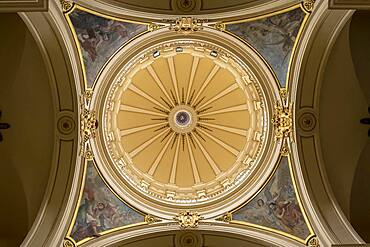 Detail of dome, Catedral Primada de Colombia, Cathedral, Bogota, Colombia