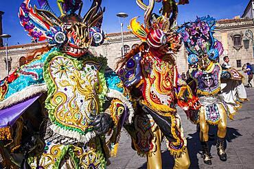 Fiesta del Gran Poder, Plaza San Francisco, La Paz, Bolivia
