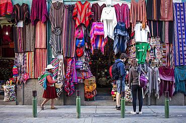 Mercado de las Brujas (witches market), souvenirs, La Paz, Bolivia