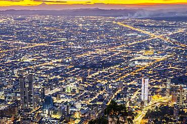 Skyline, downtown, Bogota, Colombia