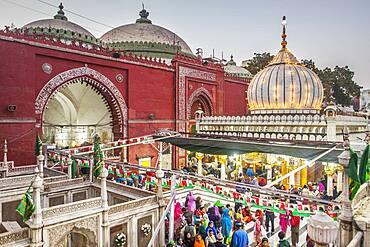 Hazrat Nizamuddin Dargah, Delhi, India