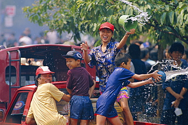 Songkran Water Festival, Chiang Mai, Thailand
