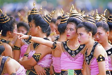 Annual Loy Krathong Festival in Sukhothai, Thailand
