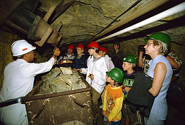 Visit to Gold Mine Reef, Gold Reef City, Johannesburg, South Africa, Africa