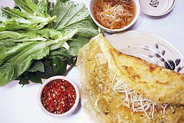 Banh ceo pancackes, Ho Chi Minh City, Vietnam, Indochina, Southeast Asia, Asia