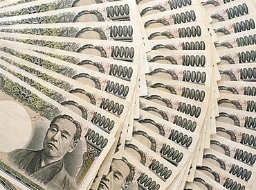 Japanese 10,000 Yen bank notes