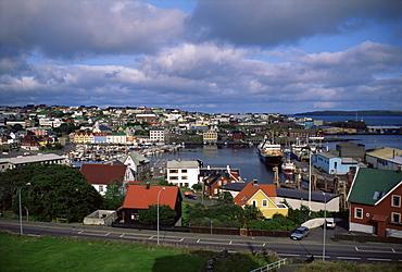 Thorshavn, Faroe Islands, Denmark, Europe