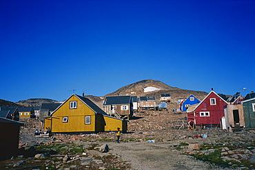 Ittoqqortoormiit, East Greenland, Greenland, Polar Regions