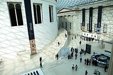 Entrance foyer, British Museum, London, England, United Kingdom, Europe