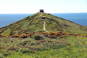 Rame Head chapel, Rame, Cornwall, England, United Kingdom, Europe