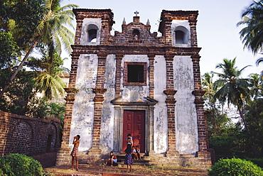 A deserted church in Goa, India