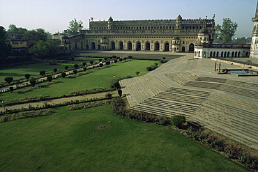 The Bara Imambara (Great Imambara), Lucknow, India, Asia