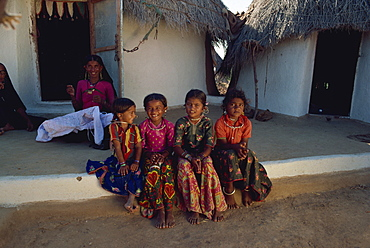 Tribal people, Kutch District, Gujarat state, India, Asia