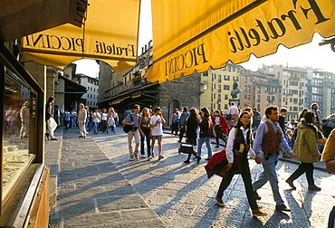 The Ponte Vecchio, Florence, Tuscany, Italy, Europe