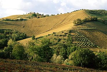 Landscape near Chieti, Abruzzo, Italy, Europe