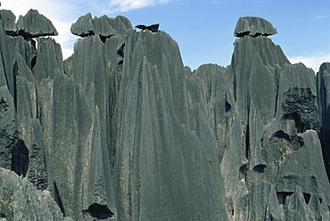 Limestone rock formations, Stone Forest, near Kunming, Yunnan, China, Asia
