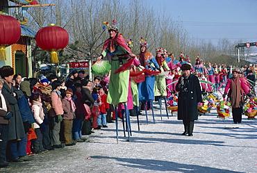 New Year celebration, North China, China, Asia