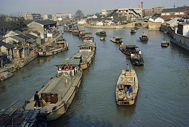 The Grand Canal, Suzhou, China, Asia