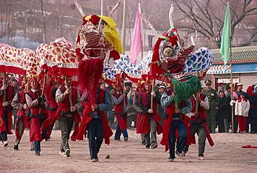 New Year celebration, Xining, Qinghai, China, Asia