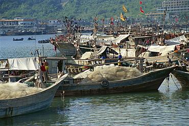 Sanya Port, Hainan Island, China, Asia