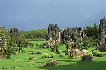 Stone Forest, near Kunming, Yunnan, China, Asia