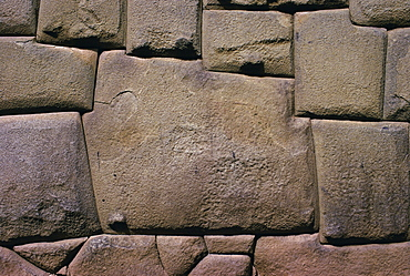 """The Stone of Twelve Angles, the Inca Palace of Hatunrumiyoc, Cuzco, Peru""""The stone is in the Lienzo petreo wall, it is an excellent exaple of the Inca's skill with polygonal masonry"""""""