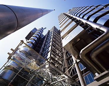 Lloyds Building, architect Richard Rogers, City of London, London, England, United Kingdom, Europe