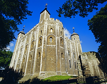 The White Tower, Tower of London, London, England, UK, Europe