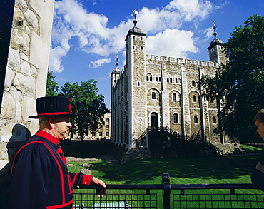 The White Tower, Tower of London, UNESCO World Heritage Site, London, England, United Kingdom, Europe