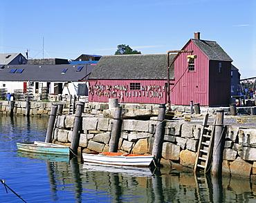 Rockport, Cape Ann, northeast from Boston, Massachusetts, New England, USA, North America