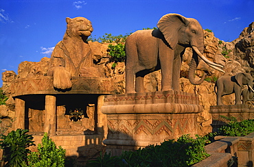 Bridge of Time, Lost City at Sun City, Bophuthatswana, South Africa, Africa