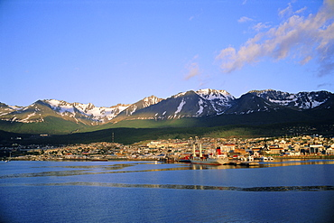 Ushuaia, the southernmost town in the Argentine, Argentina, South America