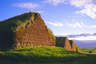 Turf farmhouse, Iceland