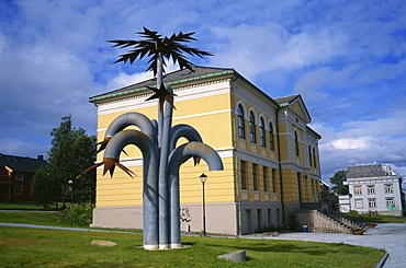Sculpture, Art Museum, Tromso, Norway, Scandinavia, Europe