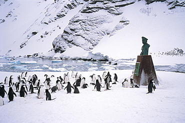 Point Wild, where Shackleton's men were rescued in 1916, one of the most historic locations in the Antarctic, Elephant Island, Antarctica, Polar Regions