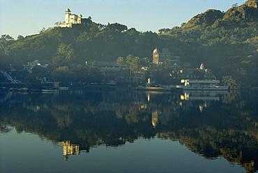 Lake Nakk, Mount Abu, Rajasthan state, India, Asia - 2-16159