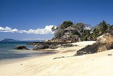 Beach, Nosybe Island, Nosy Komba, Madagascar