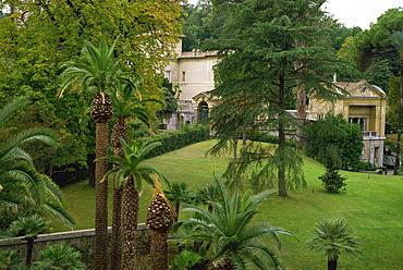 The Vatican Gardens, Rome, Lazio, Italy, Europe