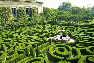 Garden maze, Portugal, Europe