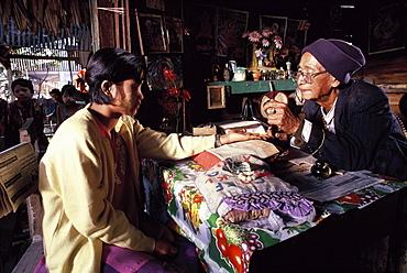 Astrologer in Mandalay, Myanmar (Burma), Asia