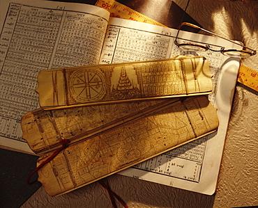 Astrology books, Myanmar (Burma), Asia