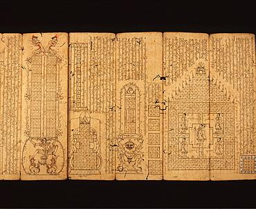Manuscript on Astrology, Myanmar (Burma), Asia